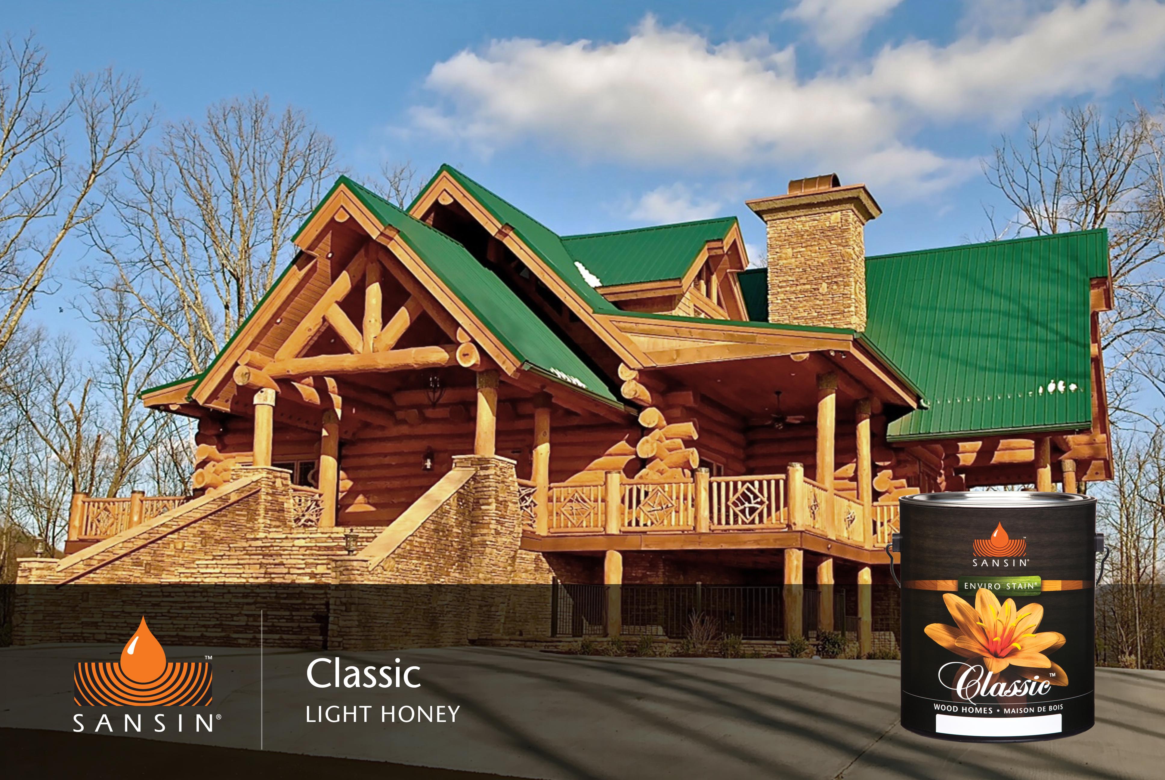 Wondrous Log Homes Exterior Finishes Sansin Com Largest Home Design Picture Inspirations Pitcheantrous