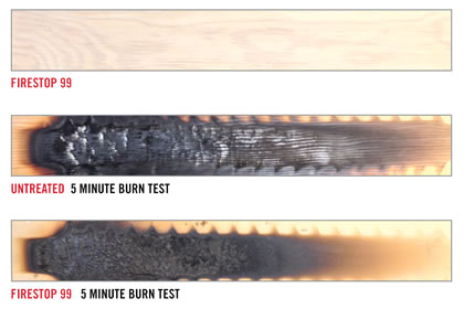 Fireburn test
