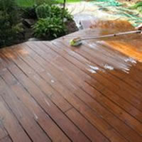 Clean Deck and Prep Surfaces