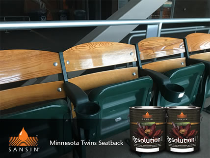 Minnesota Twins Seatback