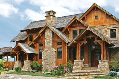Marvelous Log Homes Exterior Finishes Sansin Com Largest Home Design Picture Inspirations Pitcheantrous